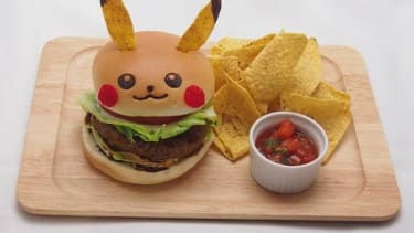 Tokyo cafe rolls out a Pikachu-themed burger