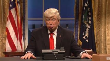 Alec Baldwin as Donald Trump for SNL