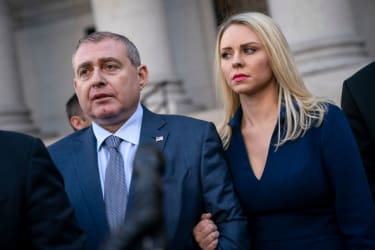 Lev Parnas with his wife, Svetlana Parnas.