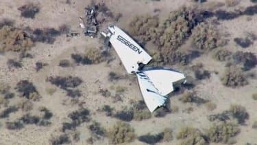 Virgin Galactic SpaceShipTwo plane crashes, pilot reportedly dead
