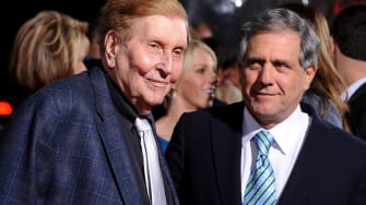 Sumner Redstone has retired as CBS chairman, and Les Moonves is taking his place