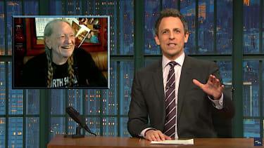 Seth Meyers looks at Jeff Sessions and marijuana