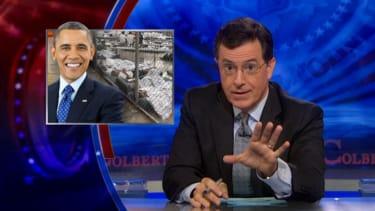 Stephen Colbert explains the wave of Latino child immigrants hitting America