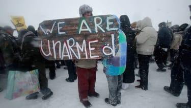 FBI investigates Standing Rock.