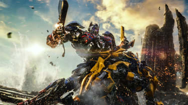 Optimus Prime and Bumblebee in Transformers: The Last Knight.