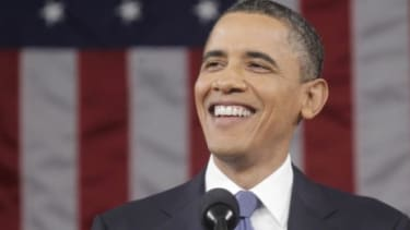 President Obama's approval ratings had been mired well below 50 percent, but after Sunday's historic announcement about the death of Osama bin Laden, his numbers shot upward.