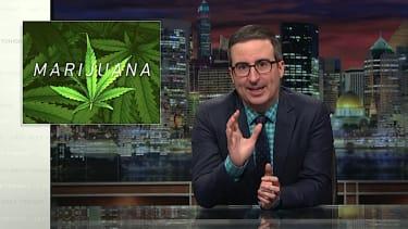 John Oliver makes the case for legalizing marijuana