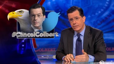 Stephen Colbert takes his #CancelColbert victory lap