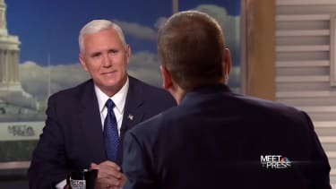 Mike Pence on NBC's Meet the Press