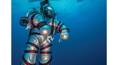 The Self Propelled Aquanaut Suit.