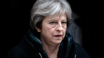 U.K. Prime Minister Theresa May.