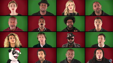 """Paul McCartney joins Jimmy Fallon and friends to sing """"Wonderful Christmastime"""""""