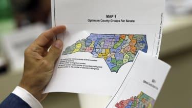 NC Electoral Map.