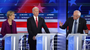 Elizabeth Warren and Bernie Sanders are feuding