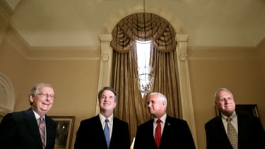 Brett Kavanaugh and Republicans.