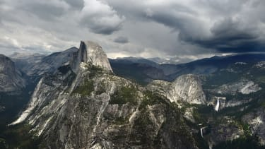 Half Dome as viewed from Glacier Point.