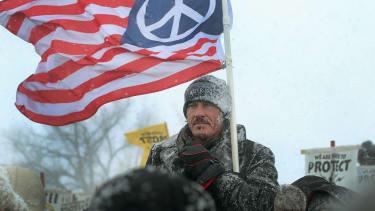 Dakota Access Pipeline protesters.