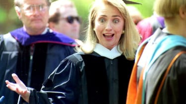 Watch Hillary Clinton give her 1969 college commencement speech.