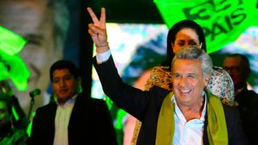 Lenin Moreno declares victory in Ecuador