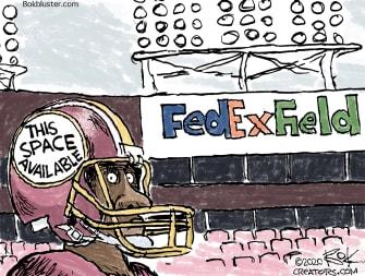 Editorial Cartoon U.S. Redskins name change