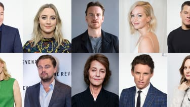 All of the nominated best actors and actresses are white.