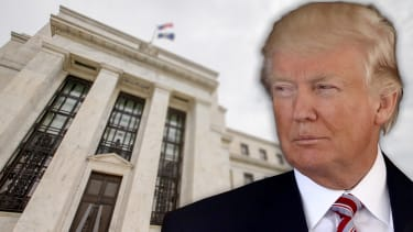 President Trump and the Fed.