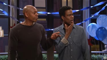 Dave Chappelle and Chris Rock on SNL