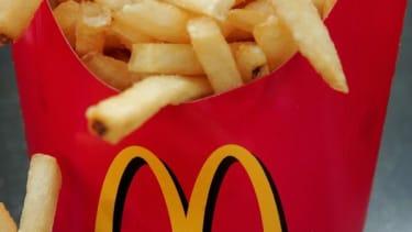 Get McDonald's delivered to your door