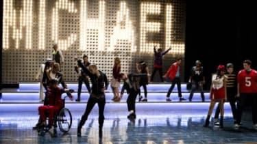 "The ""Glee"" Michael Jackson tribute"