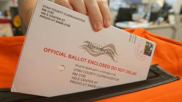 Utah mail-in ballots.