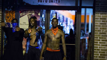 Last night in Ferguson: Images from a frustrated city
