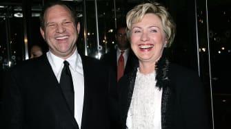 Weinstein and Clinton.