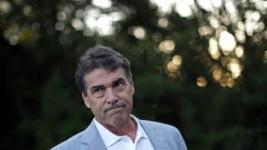 Republican presidential hopeful Rick Perry
