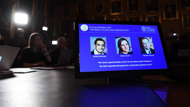 Winners of the 2019 Nobel prize in economics