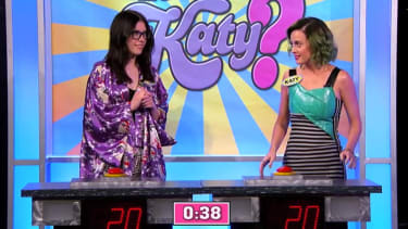 Can Katy Perry beat a Katy Perry super-fan in a Katy Perry quiz show?
