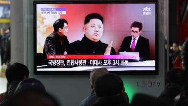 North Korean state TV says Kim Jong Un 'suffering discomfort'