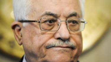 Palestinians are reportedly criticizing President Mahmoud Abbas on Facebook and Twitter.