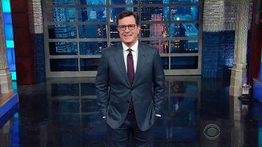 Stephen Colbert mocks Donald Trump for Meryl Streep tweets