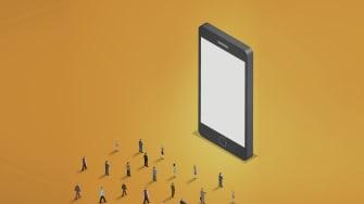 The smartphone brain drain.