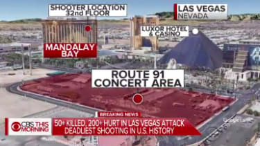 The Las Vegas shooter attacked concertgoers from the 32nd floor of his hotel.