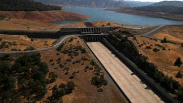 The Oroville Dam in 2014.