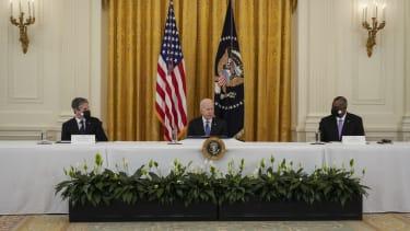 Joe Biden cabinet meeting.