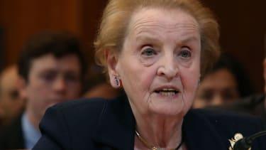 Former Secretary of State Madeline Albright.