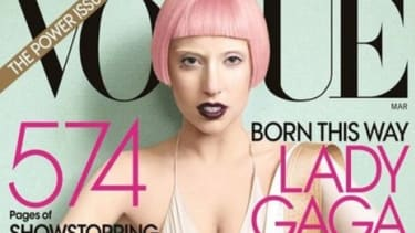 Curiously pretty or just peculiar? Lady Gaga's latest look is calculated to challenge beauty standards.