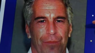 A picture of Jeffrey Epstein.
