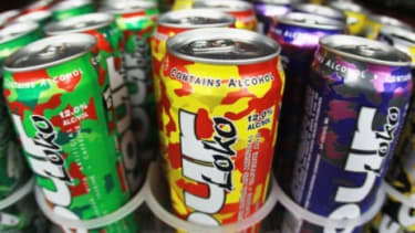Though Four Loko will no longer contain caffeine, it still comes in nine fruity flavors including watermelon, grape and cranberry-lemonade.