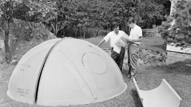 nuclear panic, tent