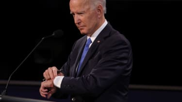 Joe Biden knows the time