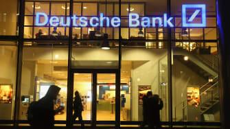 A Deutsche Bank building.