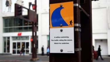 New York's Department of Transportation tries a different approach to pedestrian safety with haiku art.